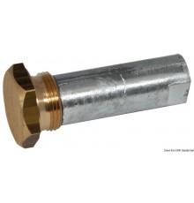 Anode moteur intra-hors-bord avec bouchon (zinc)