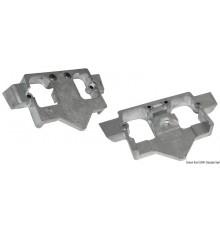 Plaque intra-hors-bord (zinc)