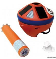 Grippy: bouée de mouillage légère et compacte, avec corde en HMPE qui se déroule automatiquement et éclairage nocturne