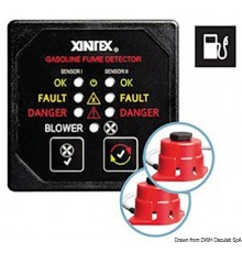 XINTEX G-2B-R gas/petrol fume detector
