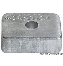 Anode pour Mercury 4/5/6 HP