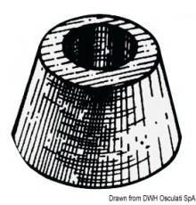 Anode circulaire à fixer avec un seul boulon