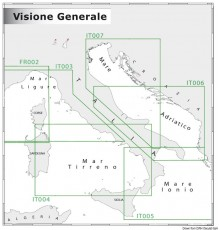 Cartographie générale 1:5.000.000 - 1:3.000.000 aperçu NAVIMAP