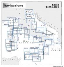 Cartographie NAVIMAP 1:250.000 pour navigation à moyenne portée