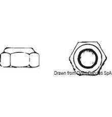 Ecrous hexagonaux indésserables type haut DIN 982