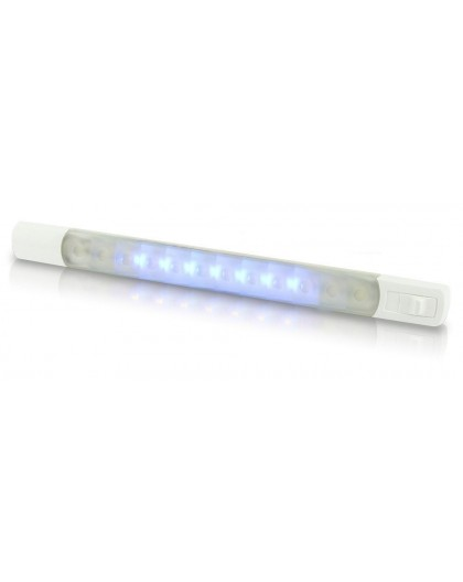 Barette LED blanc/rouge/bleue