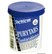 Pastilles pour WC Pury Tabs YACHTICON Pastilles pour WC Pury Tabs YACHTICON