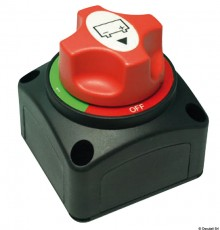 Coupe-circuit de batterie de soutien avec clé amovible