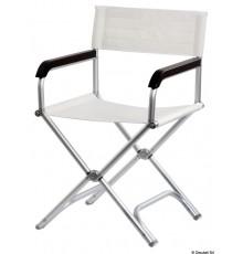 Chaise pliable Director en aluminium anodisé Chaise pliable Director en aluminium anodisé
