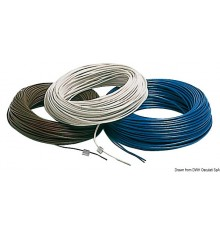 Câble électrique marin en cuivre revêtu en PVC super isolant