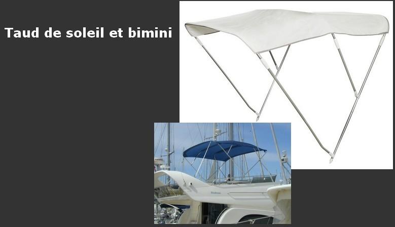 protection contre le soleil pour bateau